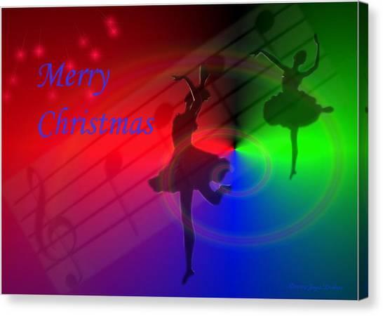 The Dance - Merry Christmas Canvas Print