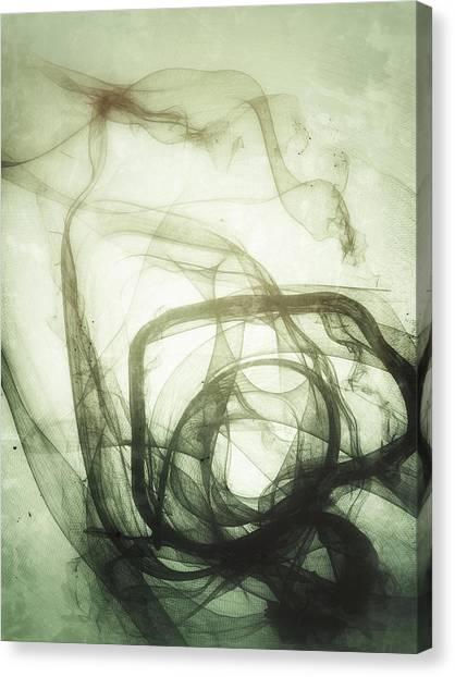 The Dance Pre-natal Canvas Print by Guillermo De Llera