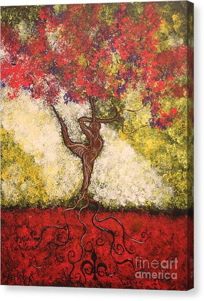 The Dancer Series 7 Canvas Print