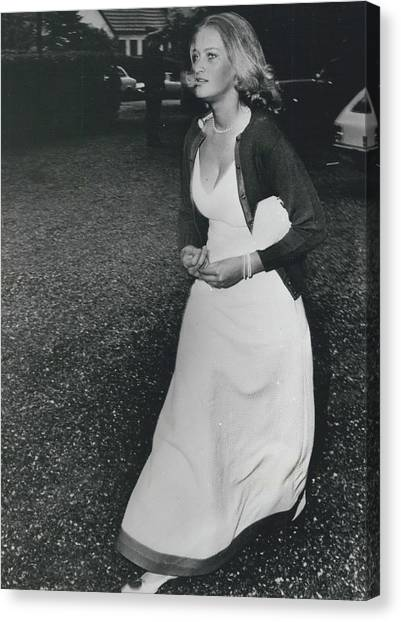 The Danes Believe Countess Desires Could Be The Bride For Canvas Print by Retro Images Archive