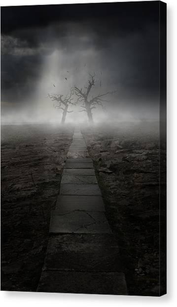 The Dark Land Canvas Print