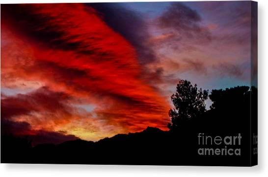 The Day Is Done Canvas Print