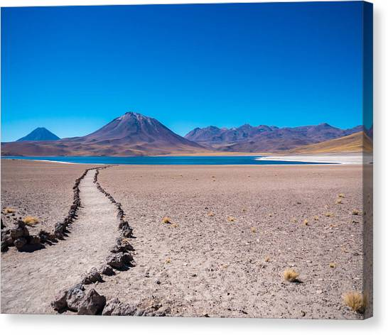 Atacama Desert Canvas Print - The Desert Over 13000 Feet by Shohei Takada