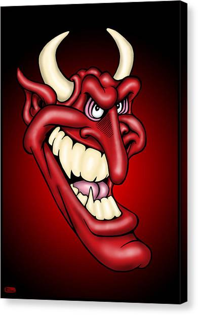 Canvas Print - The Devil by Bill Proctor