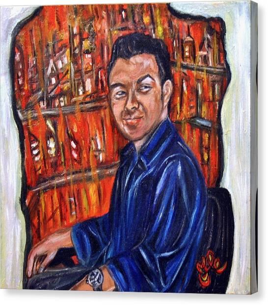 The Devil's Advocate Canvas Print