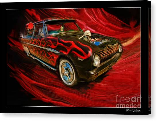 The Devil's Ride Canvas Print