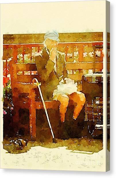 The Devonshire Man Canvas Print