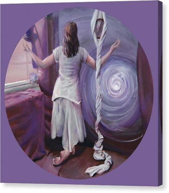 Sahasrara Canvas Print - The Devotee by Shelley Irish