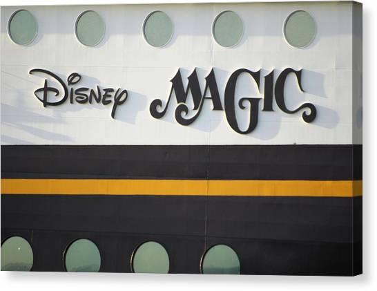 The Disney Magic Portholes Canvas Print