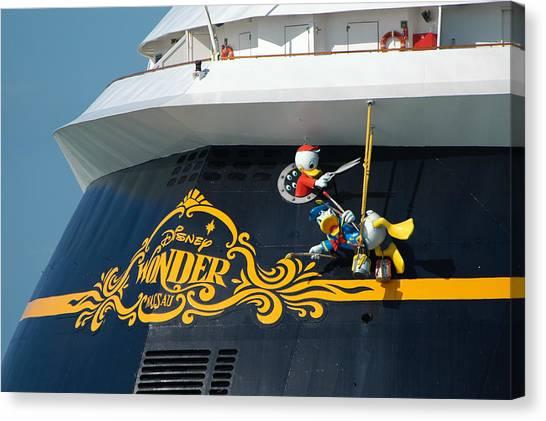 The Disney Wonder Canvas Print