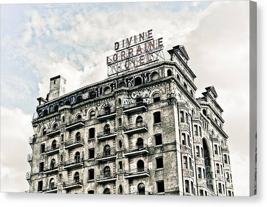 The Divine Lorraine Canvas Print