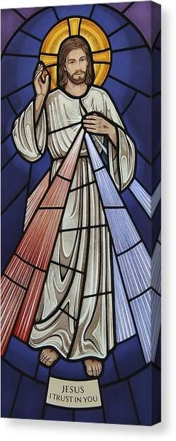 The Divine Mercy Canvas Print