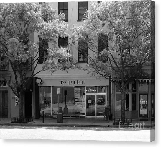 The Dixie Grill Canvas Print