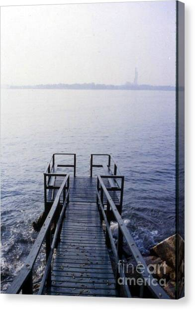 The Dock In The Bay Canvas Print