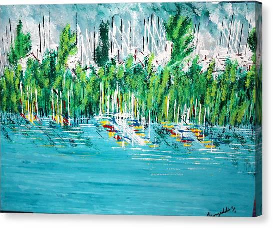 The Docks Canvas Print