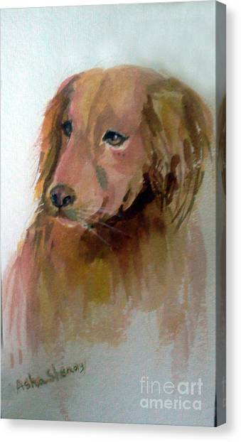 The Doggie Canvas Print