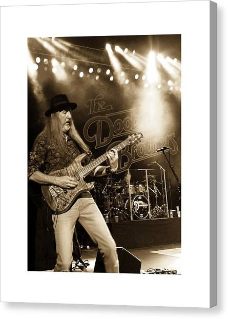 The Doobie Brothers Canvas Print