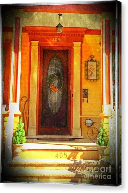 The Door 1 Canvas Print by Becky Lupe