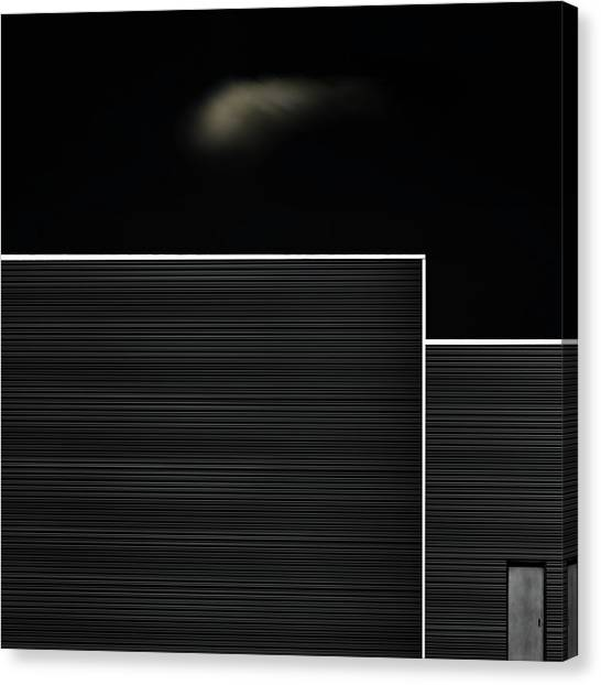 Abstraction Canvas Print - The Door by Gilbert Claes