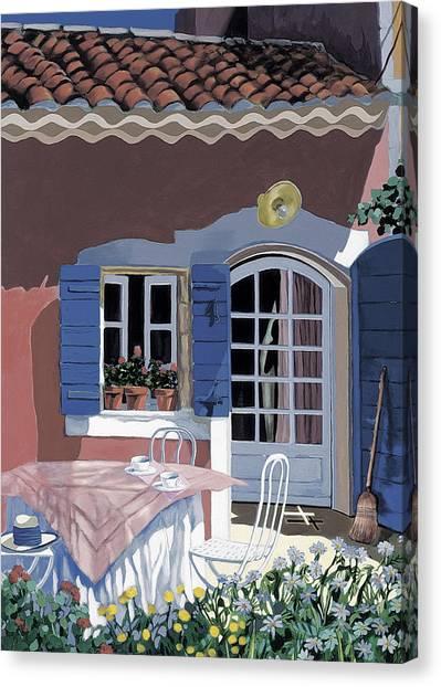 Sarah Christian Canvas Print - The Door by Sarah Christian