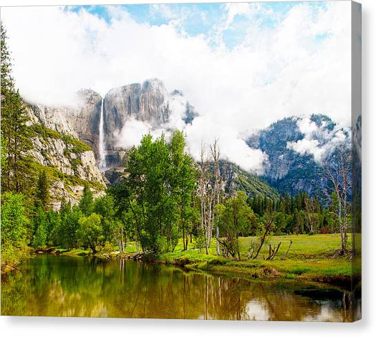 The Door To Heaven Above Yosemite National Park Canvas Print