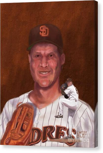 San Diego Padres Canvas Print - The Double-nickel by Jeremy Nash