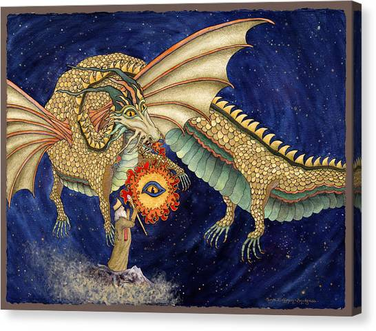The Dragon King Canvas Print