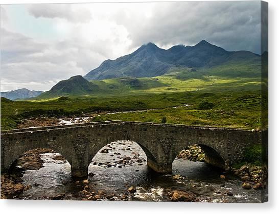 The Dramatic Isle Of Skye Canvas Print