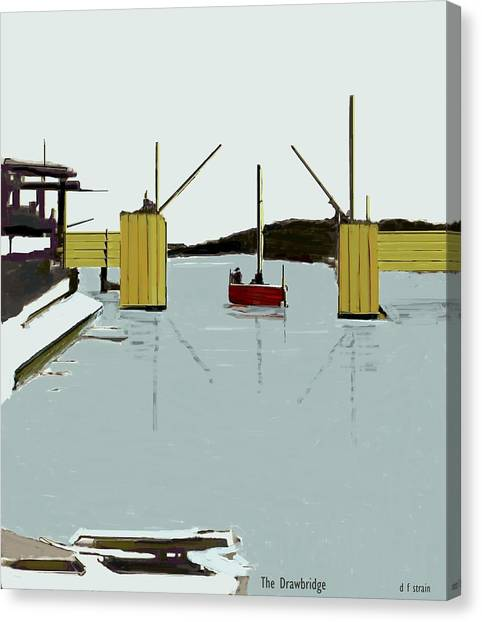The Drawbridge   Number 4 Canvas Print
