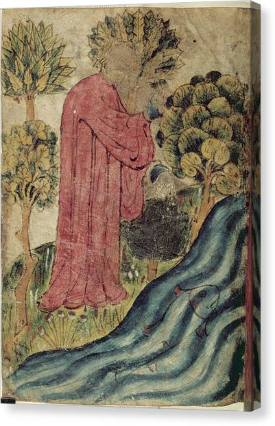English And Literature Canvas Print - The Dreamer By The River by British Library