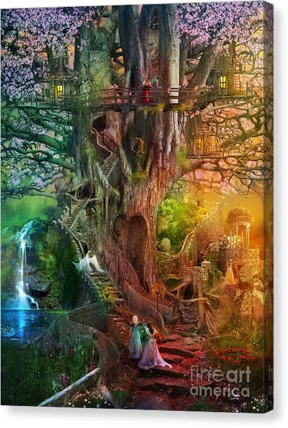 Aimee Stewart Canvas Print - The Dreaming Tree by Aimee Stewart