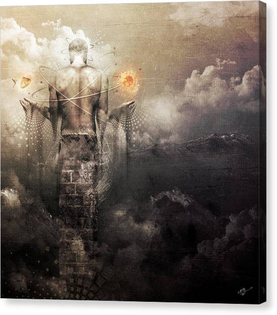 The Drum Canvas Print by Cameron Gray