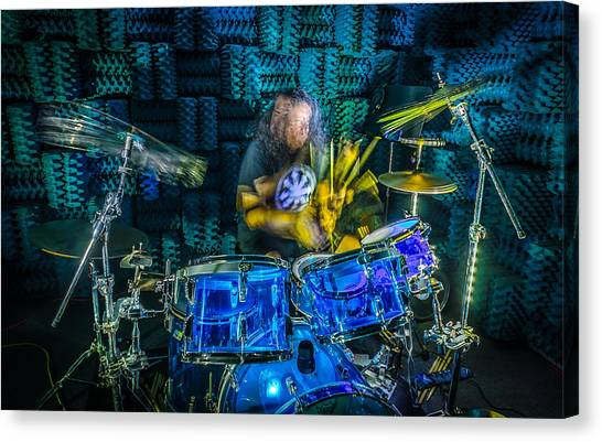 The Drummer Canvas Print