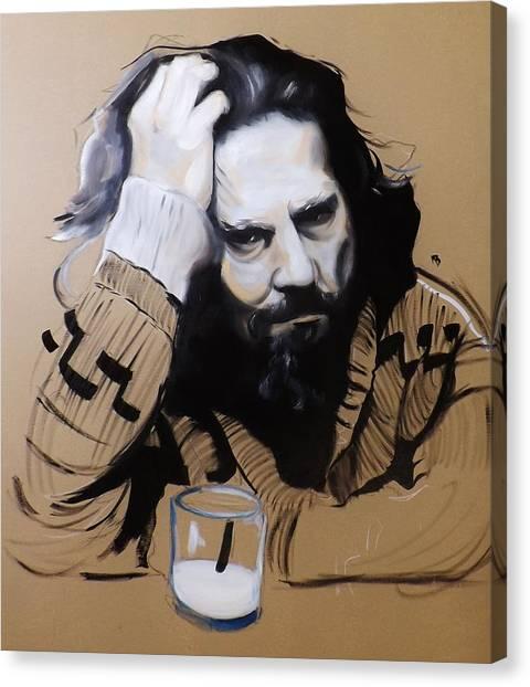 The Dude - The Big Lebowski Canvas Print