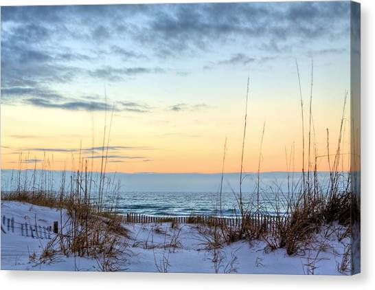 The Dunes Of Pc Beach Canvas Print