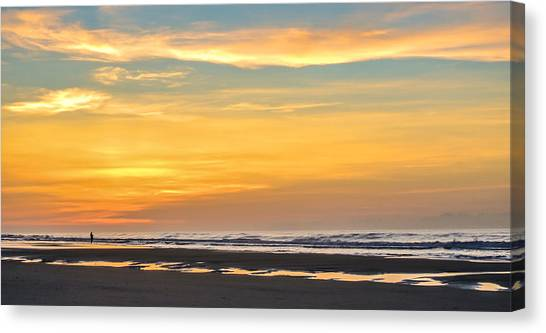 The Early Bird Uses The Worm. Canvas Print by Jason Heckman