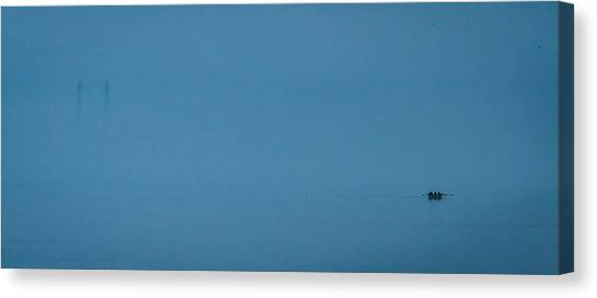 The Early Crew Canvas Print