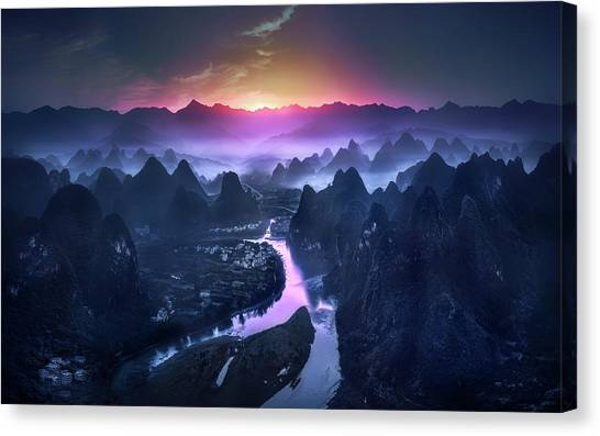 China Canvas Print - The Earth Awakening by Jes??s M. Garc??a