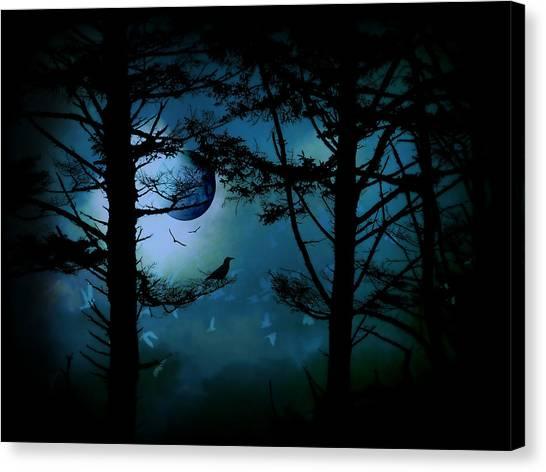 The Edge Of Twilight  Canvas Print