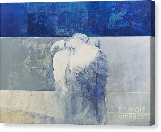 The Vatican Museum Canvas Print - The Embrace By Pedro Cano by Roberto Morgenthaler