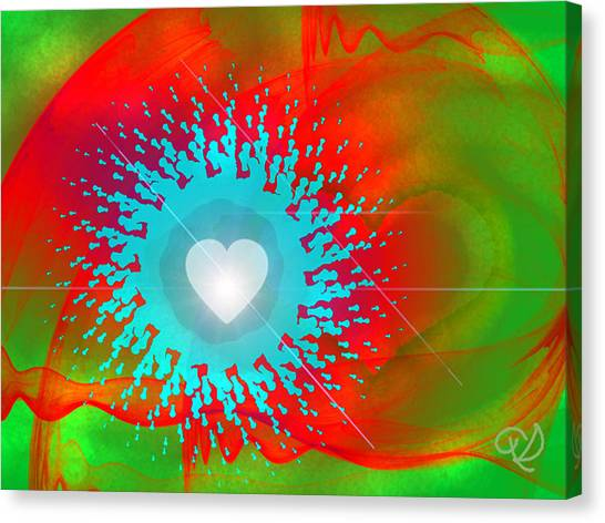 The Emergence Of Love Canvas Print