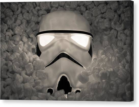 The Empire Pays Peanuts Canvas Print by Randy Turnbow