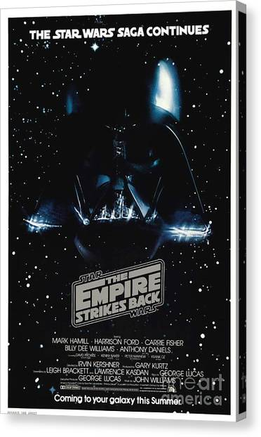 Empire Canvas Print - The Empire Stikes Back by Baltzgar