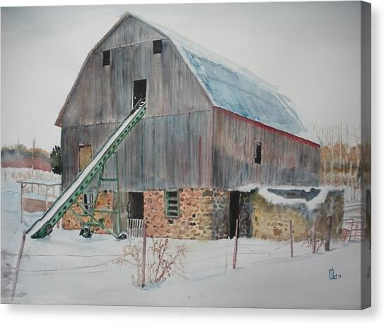 The Enchanted Barn Canvas Print