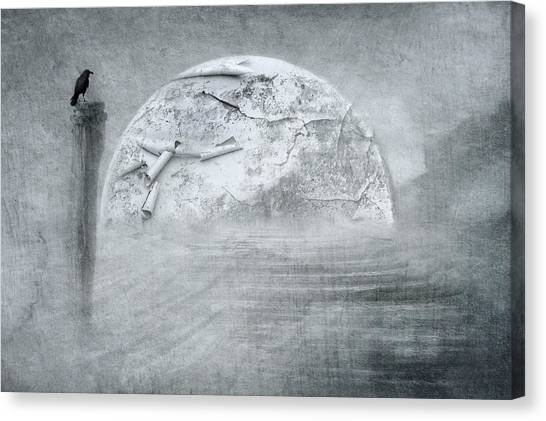 Storm Canvas Print - The End by Heike Hultsch