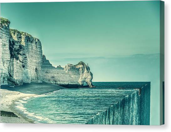 Etretat Canvas Print - The End by Marcus Hennen