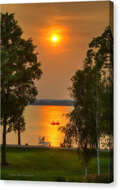 The End Of A Perfect Day Canvas Print