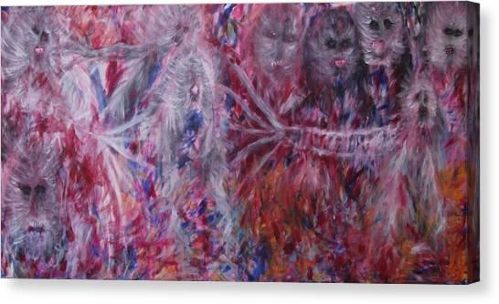 The End Canvas Print by Randall Ciotti