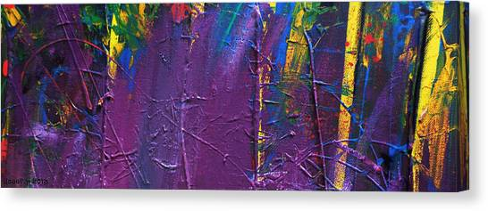 The End Stage Path Series Canvas Print