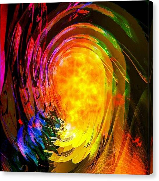 Hell Canvas Print - The Entrance To Hell by Urbane Alien
